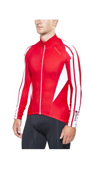 Endura FS260 Pro Roubaix Cykeltrøje lange ærmer Herrer rød